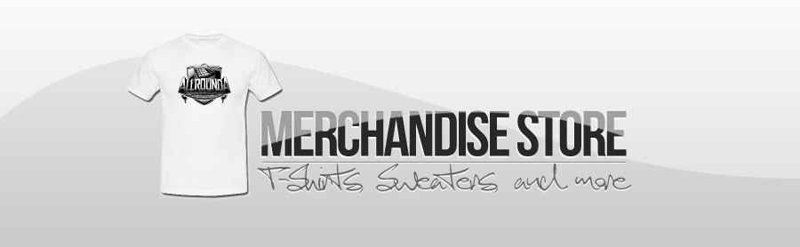 VISIT OUR NEW MERCHANDISE SHOP