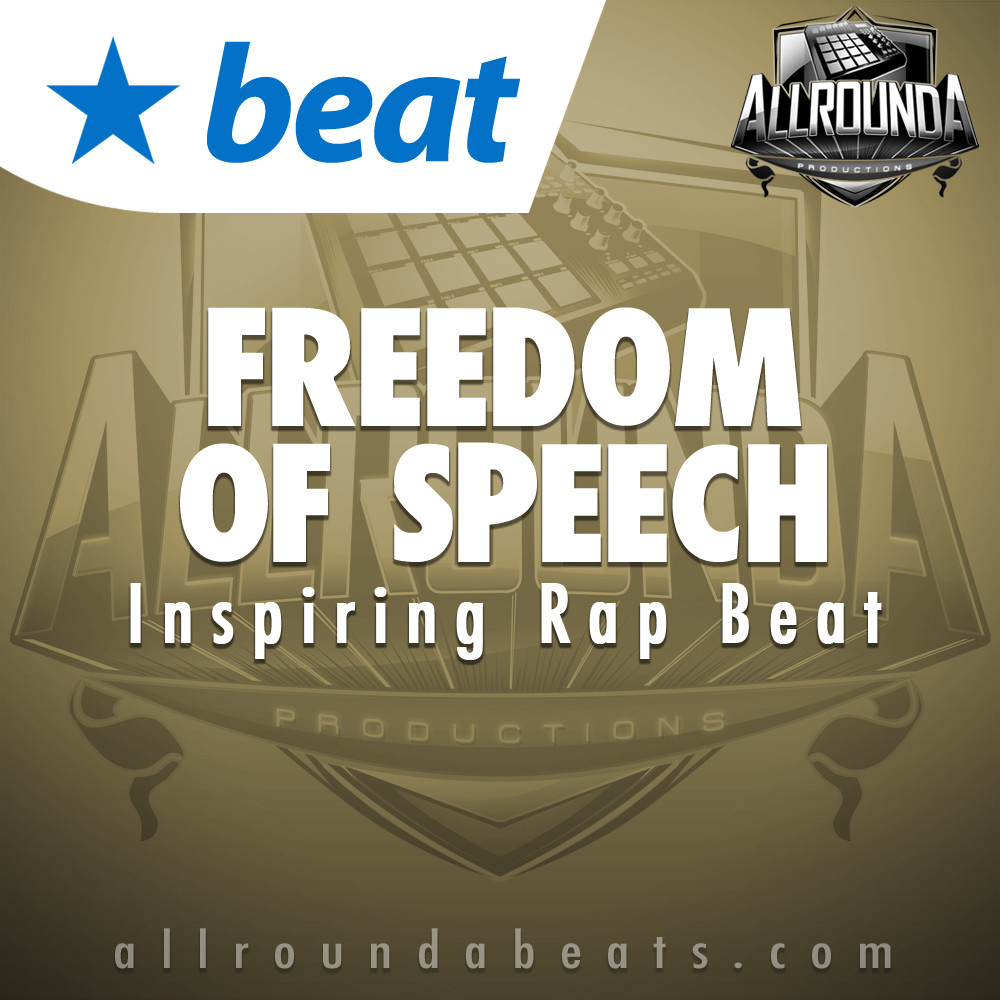 Inspiring Rap Beat, Beat — FREEDOM OF SPEECH, Buy Beats Online | Hip Hop Beats For Sale | Buy Rap & Trap Instrumentals