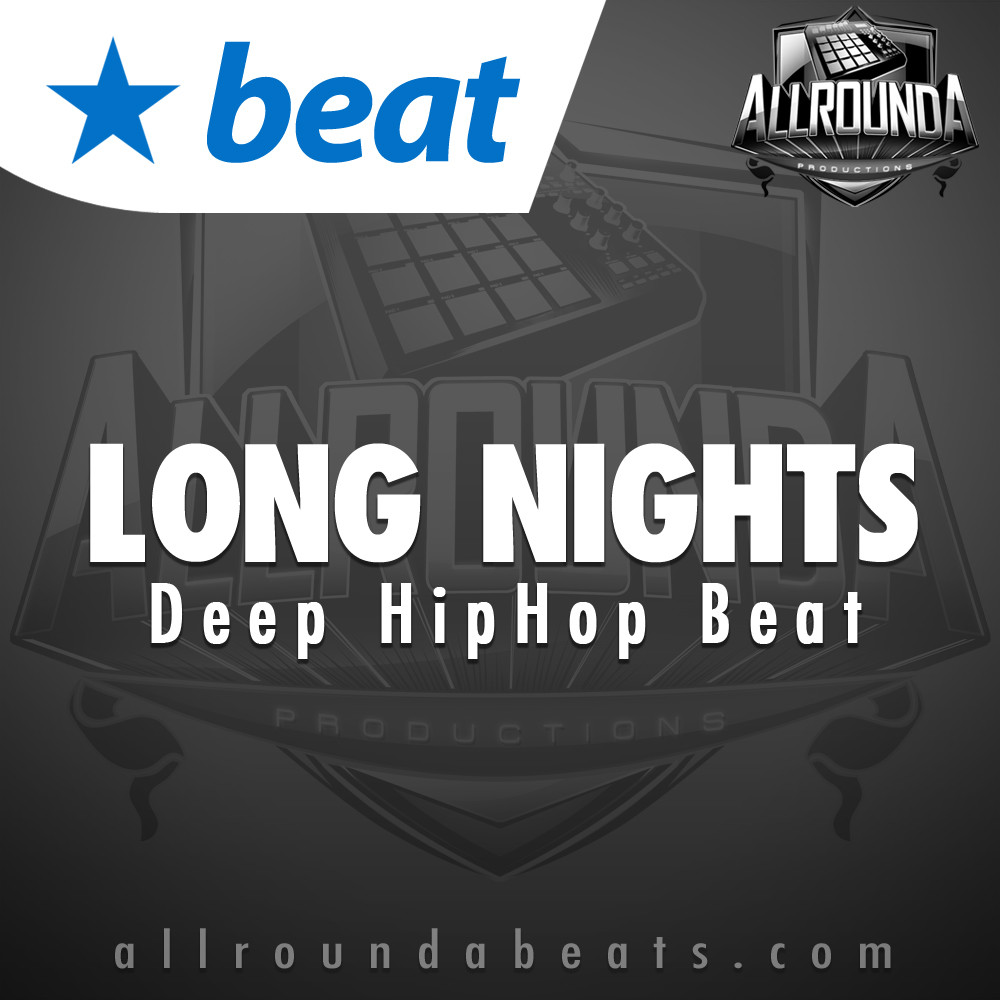 Deep Hip Hop Beat, Beat — LONG NIGHTS, Buy Beats Online | Hip Hop Beats For Sale | Buy Rap & Trap Instrumentals