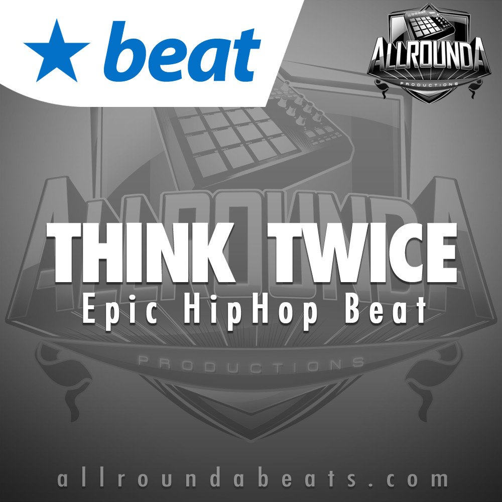 , Beat — THINK TWICE, Buy Beats Online   Hip Hop Beats For Sale   Buy Rap & Trap Instrumentals