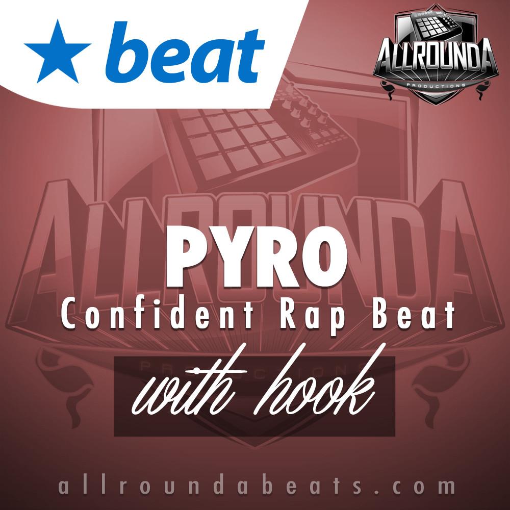 Confident Rap Beat, Beat — PYRO (with hook), Buy Beats Online | Hip Hop Beats For Sale | Buy Rap & Trap Instrumentals