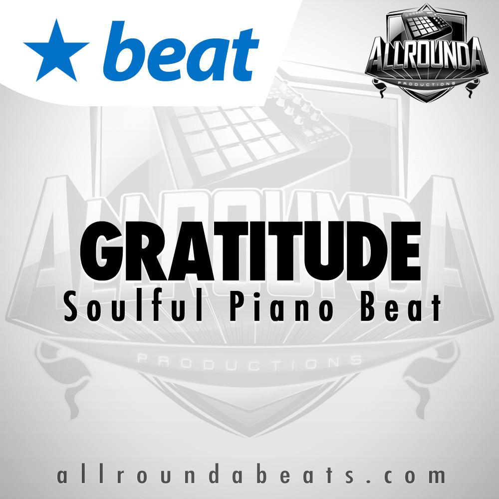 Soulful Piano Beat, Beat — GRATITUDE, Buy Beats Online | Hip Hop Beats For Sale | Buy Rap & Trap Instrumentals