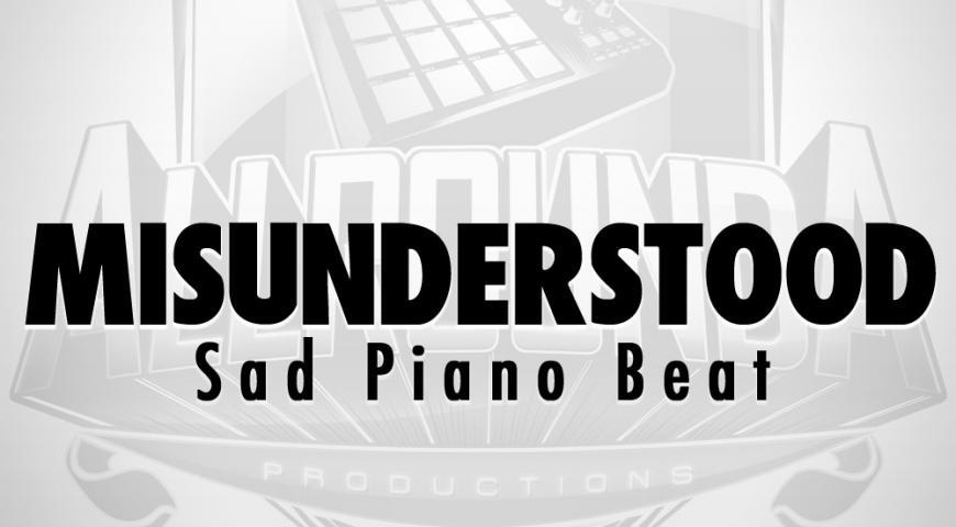 Sad Piano Beat, Beat — MISUNDERSTOOD, Buy Beats Online | Hip Hop Beats For Sale | Buy Rap & Trap Instrumentals